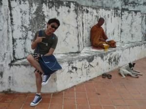 With Thai Monk