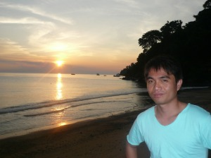 sunset with me