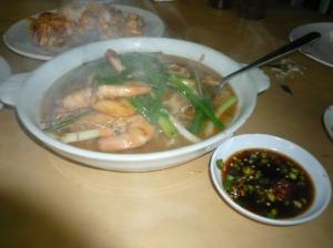 shrimp noodle